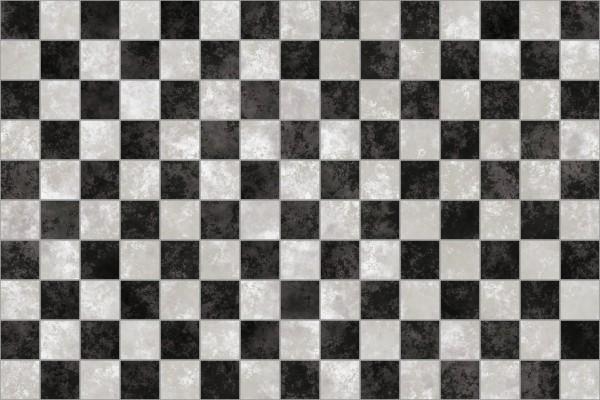 Schachbrettboden - Hintergrund